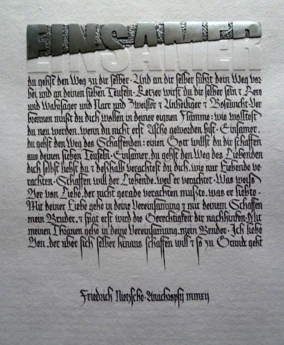 Texte de Friedrich Nietzsche